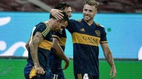 Boca venció a Inter en Brasil y camina rumbo a Racing en cuartos de final