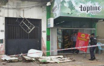 Corrientes: Dos estudiantes de la Cruz Roja heridas al desprenderse parte de un balcón