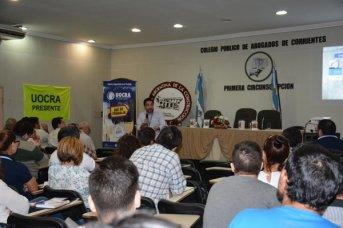 Masiva concurrencia en la Jornada Provincial de Salud y Seguridad en la Construcción