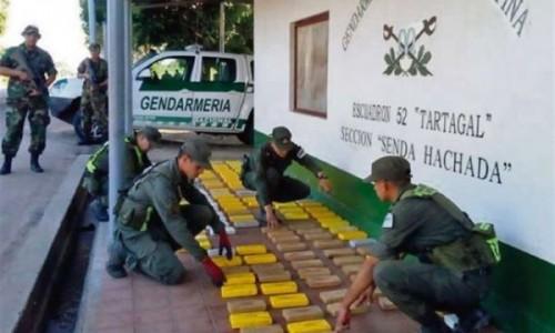 Gendarmería frenó cargamento de cocaína en Tartagal valuada en 5 millones de dólares