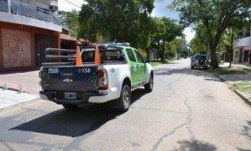 """Joven herida en choque causado por asalto de un """"motochorro"""""""