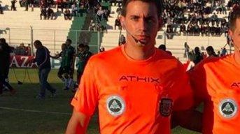 Fue detenido el árbitro Martín Bustos