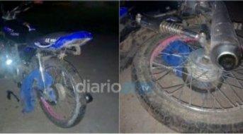 Villa Ángela: Se enredó su campera en la rueda trasera, cayó y murió