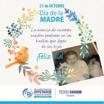 Cassani destacó el rol de las madres en las dificultades sociales