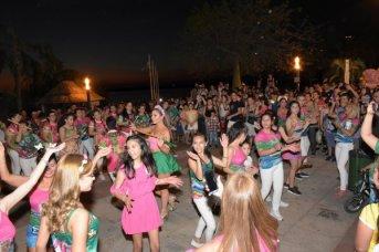Festejo para las mamás correntinas a puro carnaval