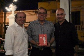 Tassano participó de la presentación del libro de Martín Baintrub