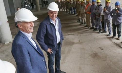 Macri recorrió en Jujuy obras en el aeropuerto