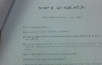 Convocan a la Asamblea Legislativa para la Apertura de Sesiones Ordinarias