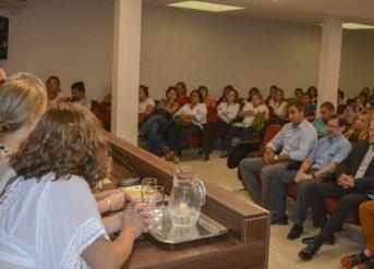 Se inició la Primera Jornada de Formación Docente del Plan Provincial de GIRSU<br />