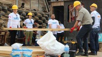 La ONG Techo convoca a voluntarios para las primeras construcciones