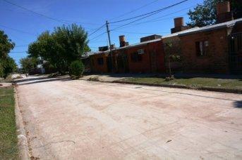 Tassano supervisó obras viales en distintos puntos de la ciudad