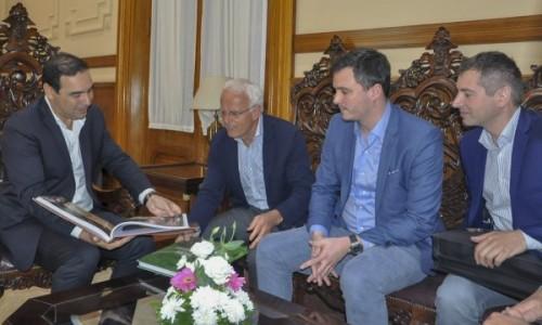 Valdés recibió a empresarios europeos que proyectan millonaria inversión en Virasoro