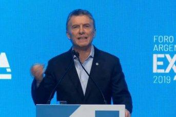 Mauricio Macri habló sobre el apagón:
