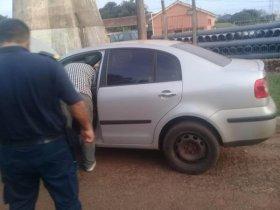 Hallan auto de prófugo brasileño y creen que preparaba un asalto