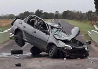 Corrientes: Dos muertos en impactante accidente en RP 5