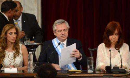 El primer discurso de Alberto Fernández Presidente: