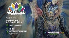El gobernador Valdés encabezará la presentación de los Carnavales Oficiales 2020