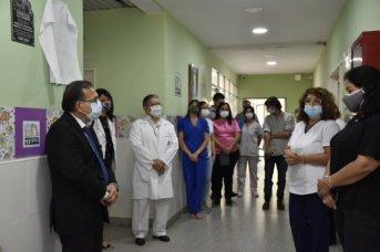 Cardozo homenajeó al Dr. Elizalde Cremonte, al cumplirse 22 años de la Maternidad del Hospital Llano