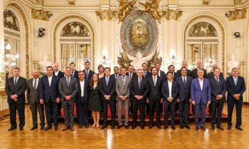 Valdés y Alberto avanzarán con el Consenso Fiscal 2020