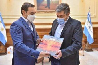 El gobernador recibió la visita institucional del intendente de Tartagal