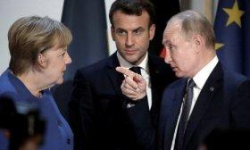 Putin, Macron y Merkel dialogaron sobre el conflicto en Ucrania