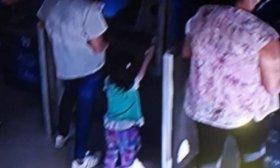 Acompa�ada por su peque�a hija, violentaba cajeros del Banco de Corrientes