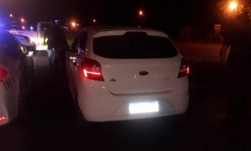 Se fugaron de un control de tránsito y fueron perseguidos por la Policía: Iban todos alcoholizados