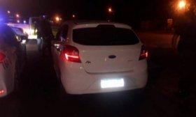 Se fugaron de un control de tr�nsito y fueron perseguidos por la Polic�a: Iban todos alcoholizados
